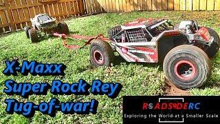 Super Rock Rey Vs X-Maxx - Tug Of War
