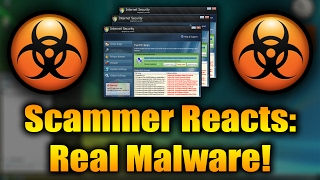 Scammer Reacts To Real Malware | Scammer Is SCARED of Real Malware | Tech Support Scammer Trolling