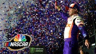 How Denny Hamlin pulled off Daytona 500 win   NASCAR   Motorsports on NBC