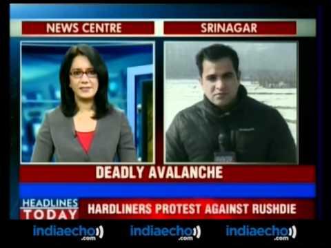 Killer Avalanche In Jammu & Kashmir-Indiaecho.com