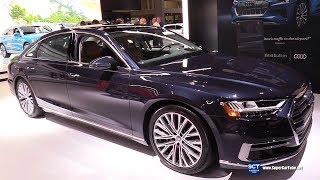 2019 Audi A8 L 3.0 Turbocharged V6 - Exterior and Interior Walkaround - 2019 New York Auto Show