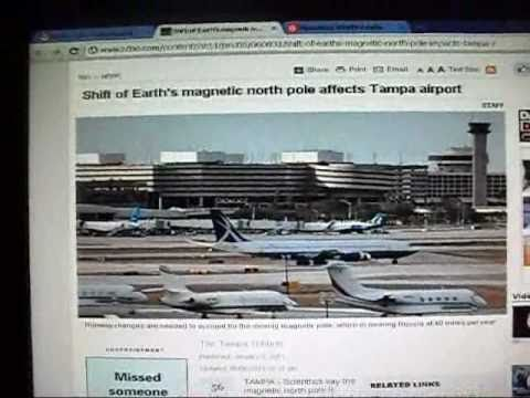 Earth's Magnetic North Pole Affects Tampa Airport / New Blog For 2011 ...