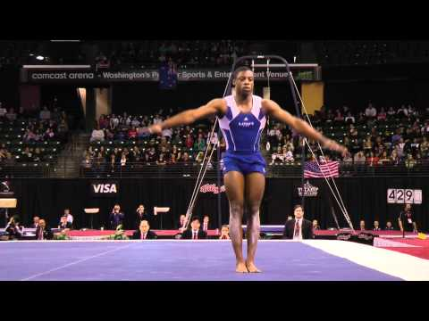 Marvin Kimble - Floor Exercise Finals - 2012 Kellogg&#039;s Pacific Rim Championships