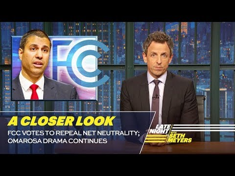 FCC Votes to Repeal Net Neutrality; Omarosa Drama Continues: A Closer Look