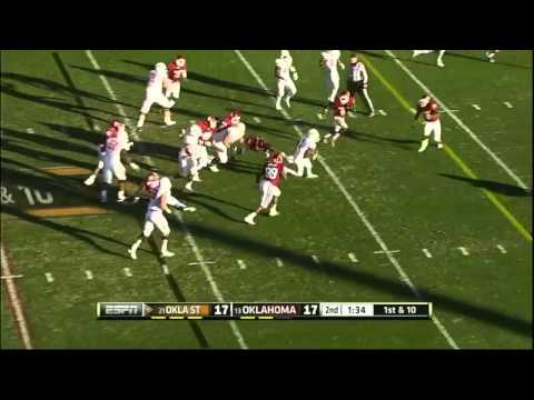 Joseph Randle vs Oklahoma 2012