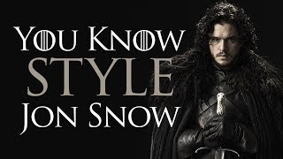 7 Style Tips From Game Of Thrones | You Know Style, Jon Snow