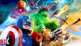 LEGO Marvel Super Heroes Walkthrough - Full Game 100%