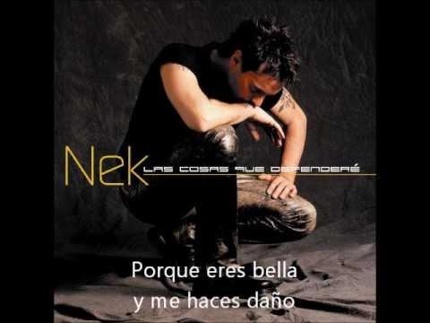 Nek - Tan Solo Tu