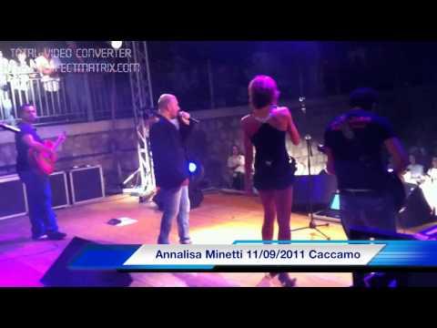 Gabriele Palumbo con Annalisa Minetti