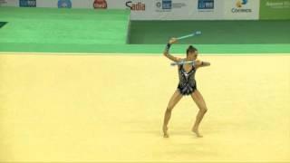Rio de Janeiro - Test Event: Veronica Bertolini / Clavette (All-around)