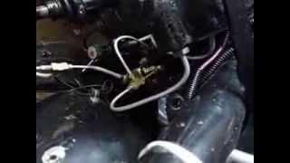 Budget oriented drag car brake system