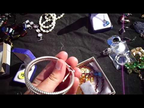 Gold Silver Jewelry Collectibles. Flea Market Garage Yard Estate Sale Finds Pick-Ups 2 of 2 5/31/14