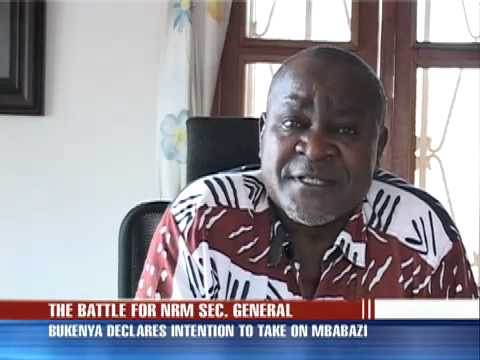 VP Bukenya to battle against Amama Mbabazi
