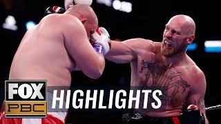 Adam Kownacki stunned by Robert Helenius in fourth round TKO | HIGHLIGHTS | PBC ON FOX