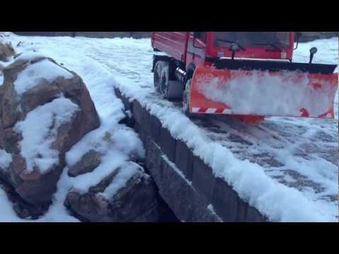 RC 6x6 Tamiya Mercedes Snow Plow SMX. S20. Dump Truck