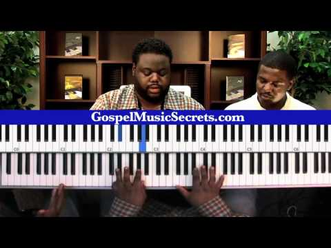 Marcus Hodge - Teaching Traditional Praise Pattern in Musician Breakthrough Dvd Music Videos