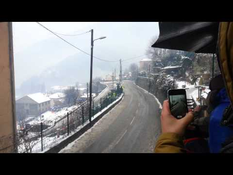 Rally Montecarlo2013 - Incidenti di NOVIKOV e LATVALA