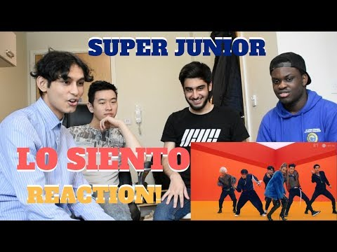 SUPER JUNIOR - LO SIENTO ft. Leslie Grace MV REACTION! (WHAT A COLLAB!)