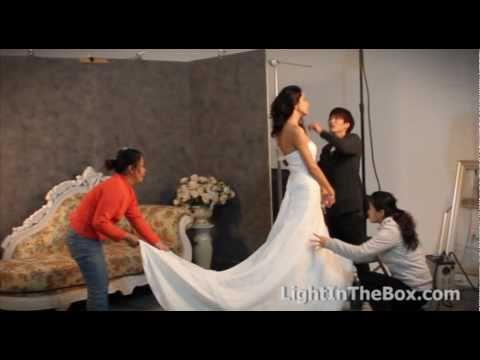 Wedding Dress Fashion Shoot From LightInTheBox