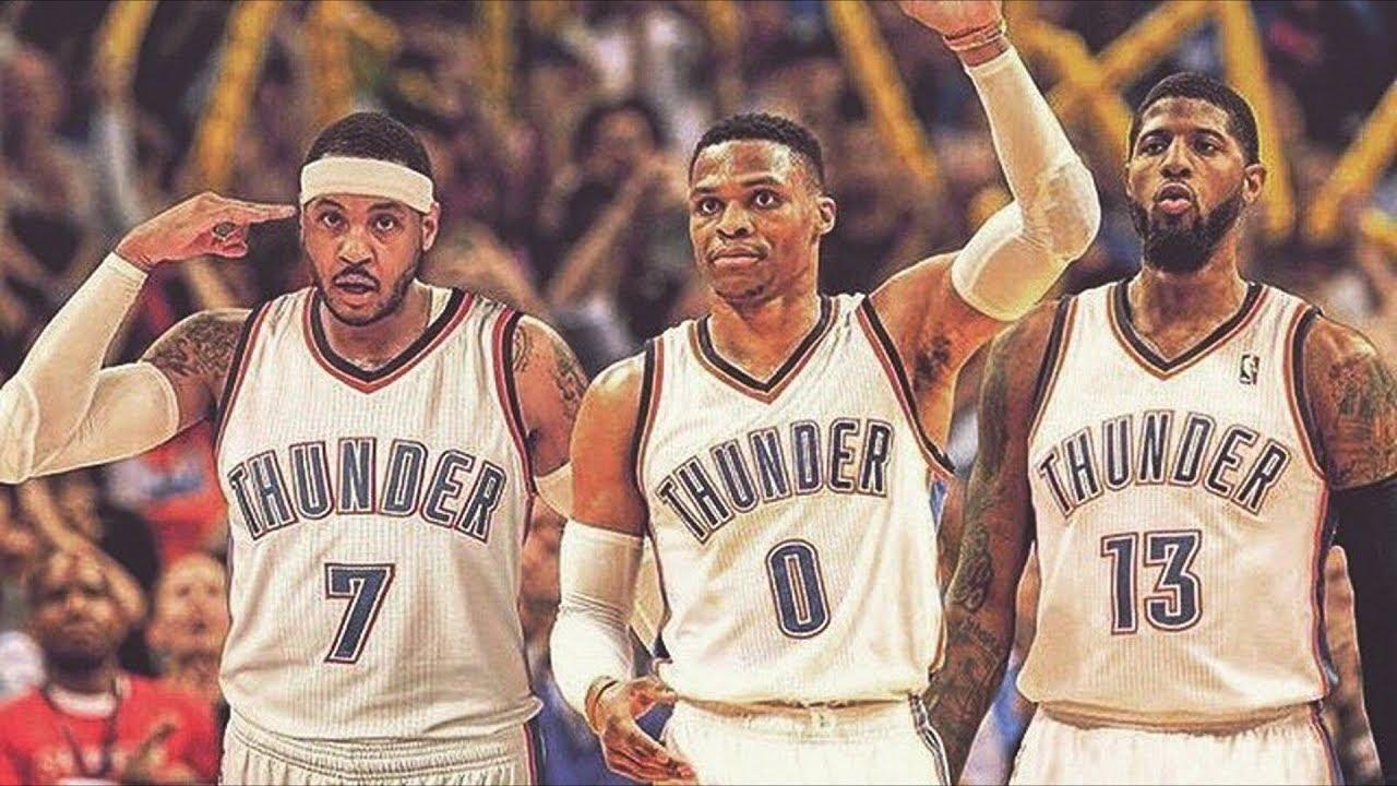 Carmelo Anthony Traded to Thunder! OKC Creates Big 3! NBA Off Season 2017