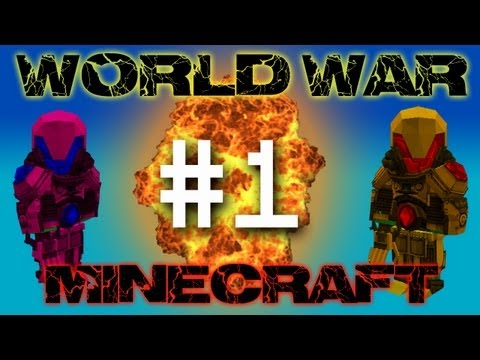 World War Minecraft - FnD Town! #1