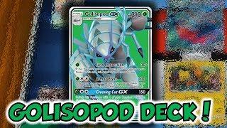 CRAZY GOOD GAME!   Golisopod GX/Magcargo Deck Profile and Battles w/ TrainerChip!