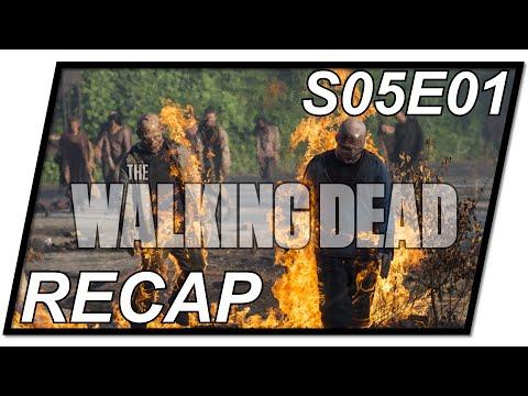 The Walking Dead Recap #01 | TWD Staffel 5 Folge 1 - S05E01 | ein blutiger Staffelauftakt