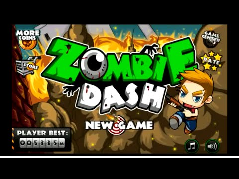 App test 40: Zombie Dash (Android) gameplay