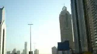 High rise buildings on Sheikh Zayed Road,Dubai