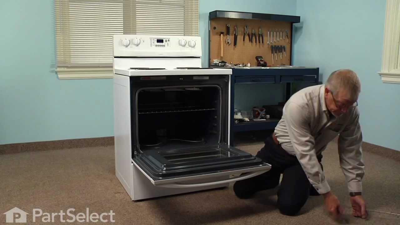 Range Stove Oven Repair Replacing The Bake Element