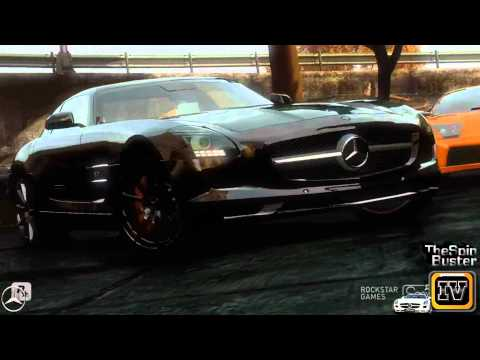 GTA 4 - Mercedes - Benz SLS AMG 2011