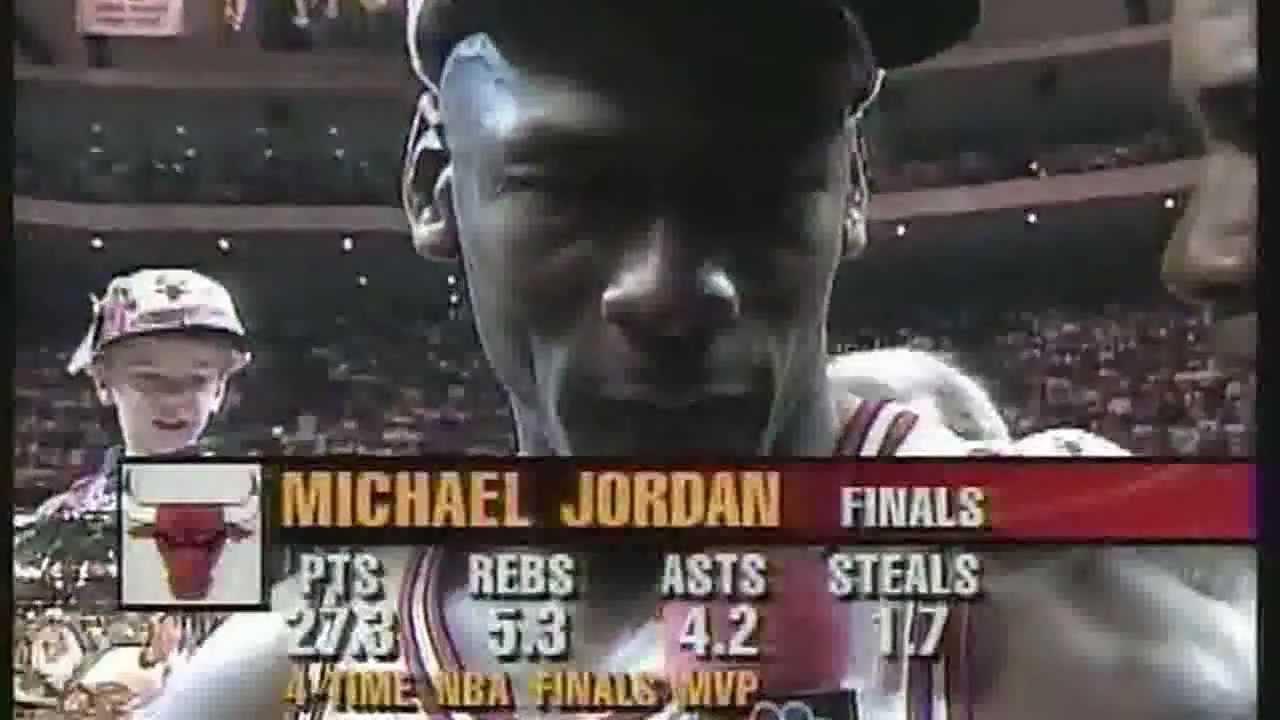 1996 Nba Finals 1996 Nba Finals Game 6