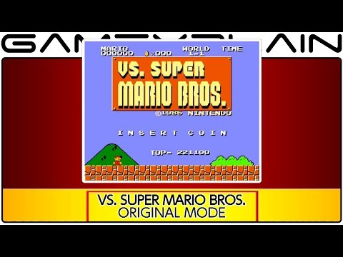 Arcade Archives: VS Super Mario Bros. Gameplay (A Remixed SMB! - Nintendo Switch)