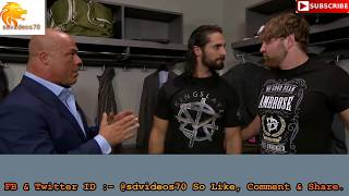 WWE Dean Ambrose Vs Seth Rollians Sandas Jane ki Ladai Hindi Dubbed funny Video //dhiman raj vines//