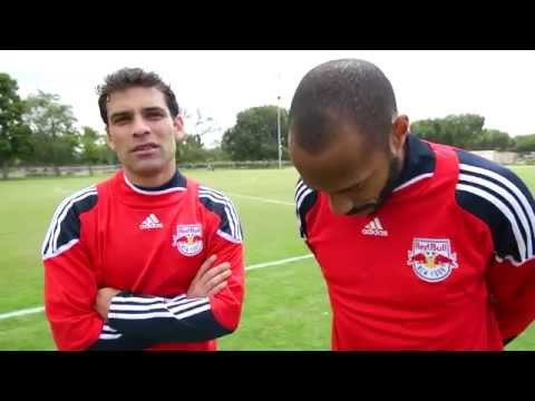 Thierry Henry and Rafa Marquez - Red Bull Futbol Maestros 2011