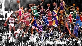NBA Best Dunk By Year (1979-2016)