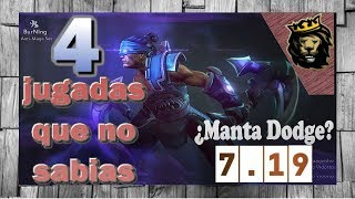 4 Patch Tricks 7.18 - That you did not know Dota 2