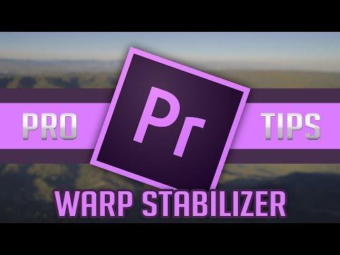PRO TIP #1 Using Warp Stabilizer CORRECTLY