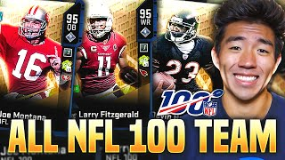 ALL NFL 100 TEAM! THE MOST OVERPOWERED LINEUP IN THE GAME! Madden 20 Ultimate Team
