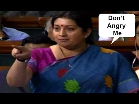 Smriti Irani slams Rahul Gandhi on POTATO comment In Lok sabha Speech