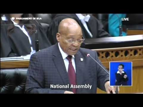 Zuma speaks on xenophobia