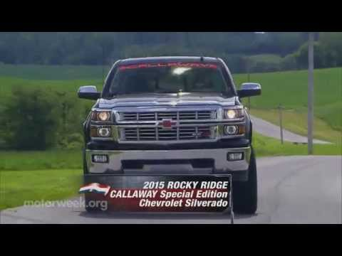 MotorWeek | Road Test: Rocky Ridge Callaway Special Edition Chevrolet Silverado
