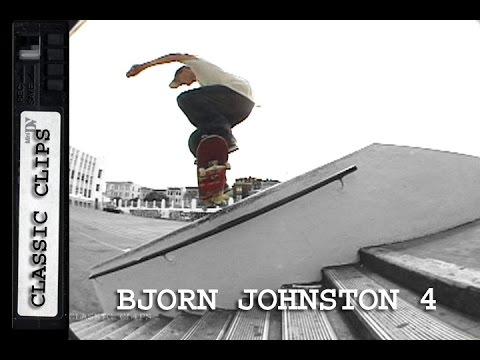 Bjorn Johnston Skateboarding Classic Clips #218 Part 4