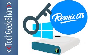 Remix OS | Access Windows HardDrives