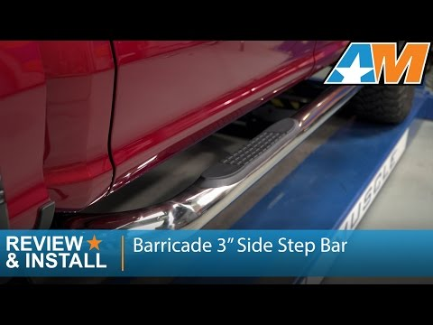 "2015-2017 Ford F-150 Barricade 3"" Side Step Bar Review & Install"