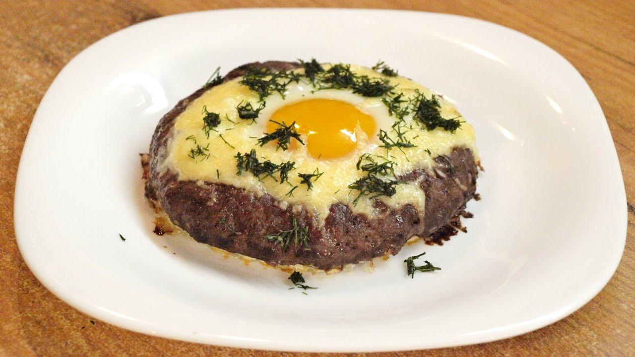Котлеты с яйцом внутри рецепт пошагово