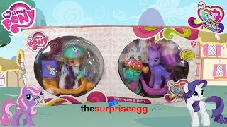 My Little Pony Rarity & Daisy Dreams Pony Scooter Friends Set only at TRU unboxing