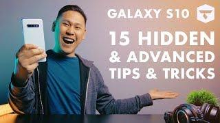 "TOP 15 SAMSUNG GALAXY S10, S10 PLUS & S10e TIPS - HIDDEN & ""ADVANCED FEATURES"""