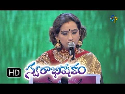 Ninnati Daaka Silanaina Song - Kalpana Performance in ETV Swarabhishekam - 11th Oct 2015
