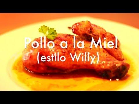 Pollo asado con miel estilo Willy - Recetas de cocina fácil